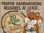 Hand washing Reminders- Set of 3