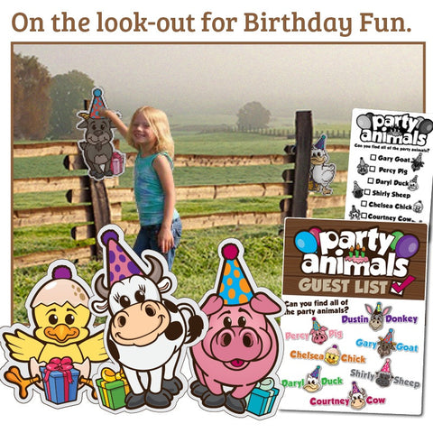 Party Animals - Complete Birthday Game Set