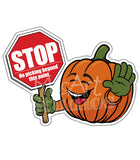 Directional Character Signs- set of 3 Large pumpkins