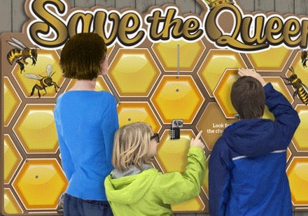 Add-on Puzzle Board: Save The Queen - Escape Game (Bees)