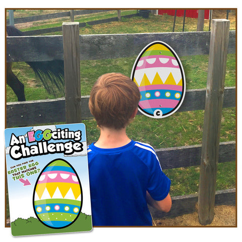 Egg-citing Challenge- a 'seek the match' site game