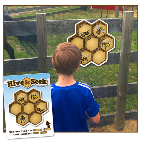 Hive and Seek - a 'seek the match' site game