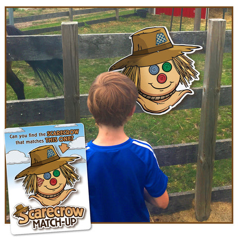 Scarecrow Match Up - a 'seek the match' site game