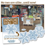 Snowflake Seek and Find (Winter, Christmas, Maple)