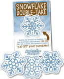 Snowflake Double Take - a 'seek the match' site game for Maple and Winter
