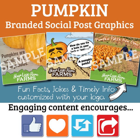 Pumpkin Posts for your Social Media