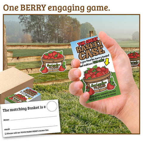 Berry Basket Case Game Add-on: 5,000 Berry Ballots (strawberries, mixed berries)