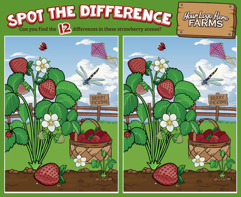 *NEW: Strawberries - Spot the Difference