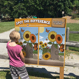 Sunflowers Spot the Differences GameBoard®