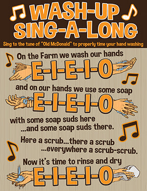 Hand Washing Sing-a-long