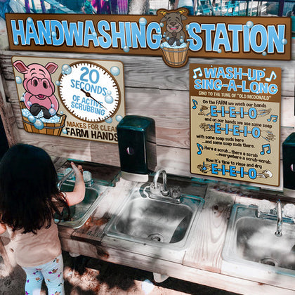 *NEW: Hand Washing Station (Farm)