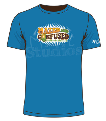 Mazed and Confused T-Shirts (100 units)