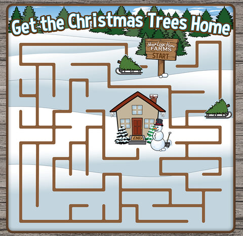 Christmas Tree Channel Maze