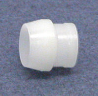 "Plastic sleeve for 1/4"" Poly Tubing"