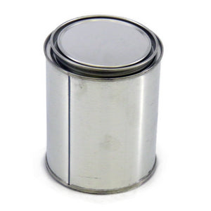 "Metal Geochem Can, ""Paint Can"" Style, 1 liter"