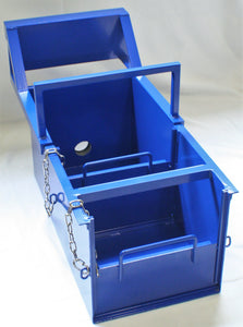 Sluice Box with Mounting Panel