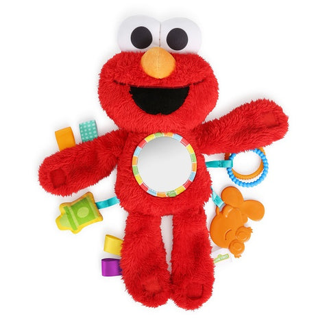 Bright Starts™ - Sesame Street Elmo Travel Buddy on-the-Go Plush Attachment
