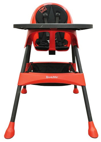 Lucky Baby® - Modus Plus™ Baby High Chair - Red