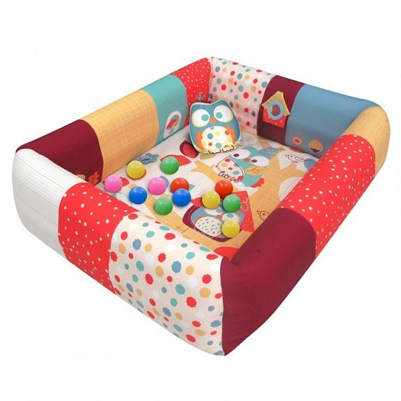 Lucky Baby- Do Do & Ki Ki Owl - 2 in 1 Inflatable PlayMat