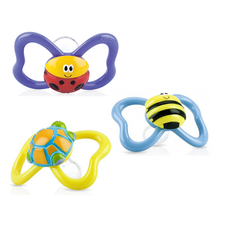 Nuby - 3D Paci-Pals™ (M) (Available in 3 Designs)