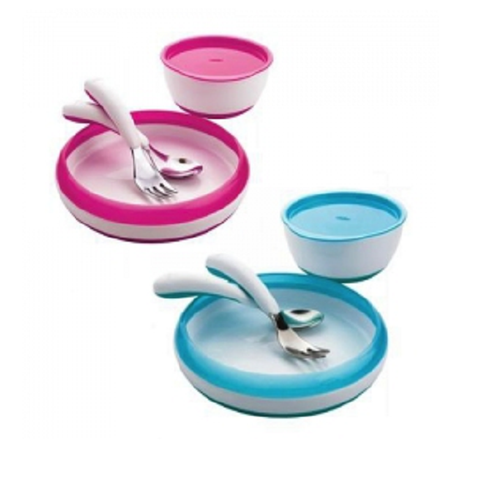 OXO Tot Toddler Feeding Set (4-Pieces) (Available in 2 Colors)