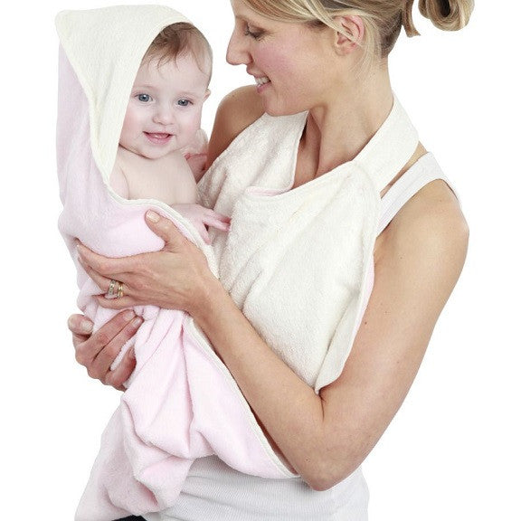 Cuddledry - Baby Apron Bath Towel (Available in 7 Colors)