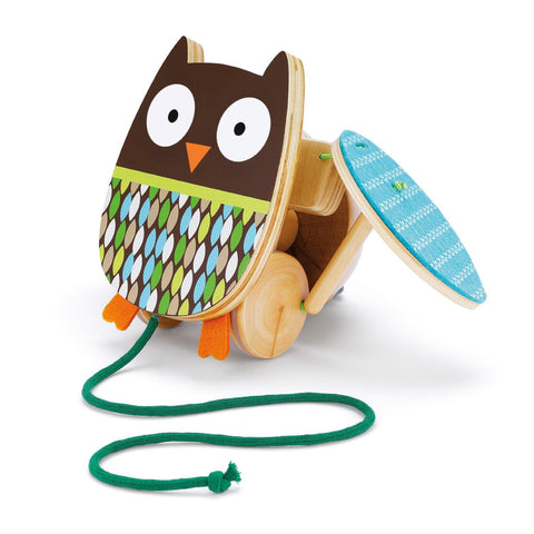 Skip Hop - Treetop Friends - Flapping Owl Pull Toy