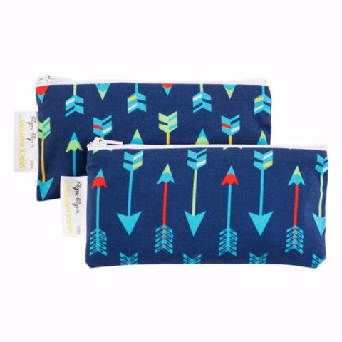 Itzy Ritzy Snack Happens Mini™ Reusable Snack Bags (Available in 9 Designs)