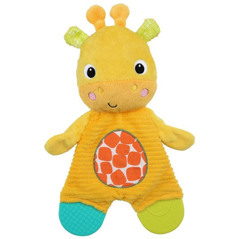 Bright Starts™ - Snuggle & Teethe Plush - (Available in 2 Designs)