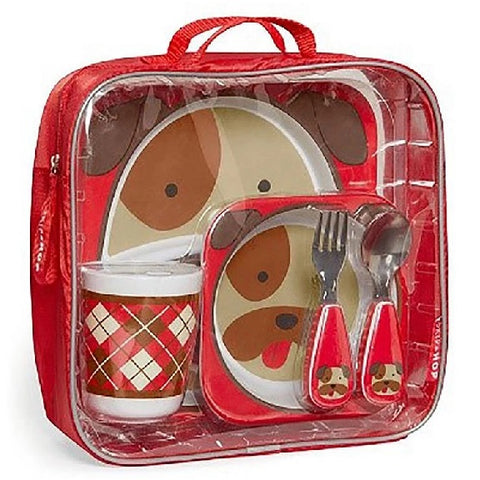 SKIP HOP ZOO WINTER MEALTIME GIFT SET (Available in 2 Designs)
