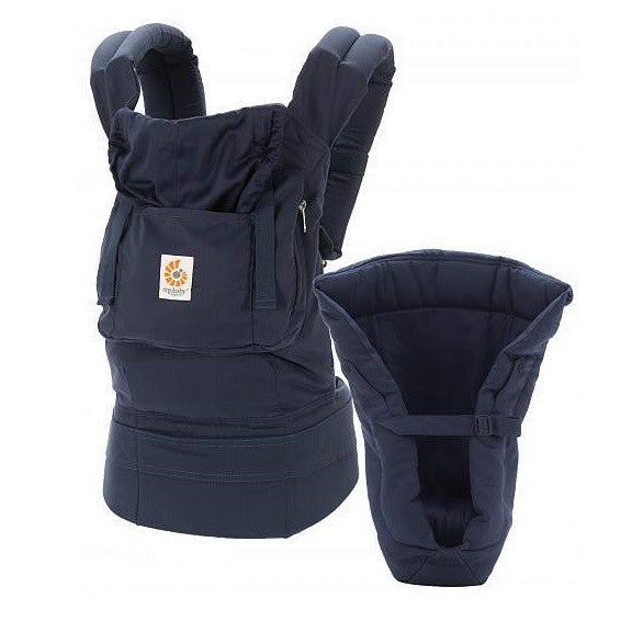 Ergobaby - Organic Bundle of Joy - Navy/Midnight with Navy Insert