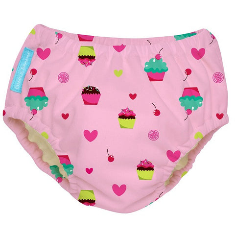 Charlie Banana - 2 in 1 Swim Diaper & Training Pants - Cup Cakes
