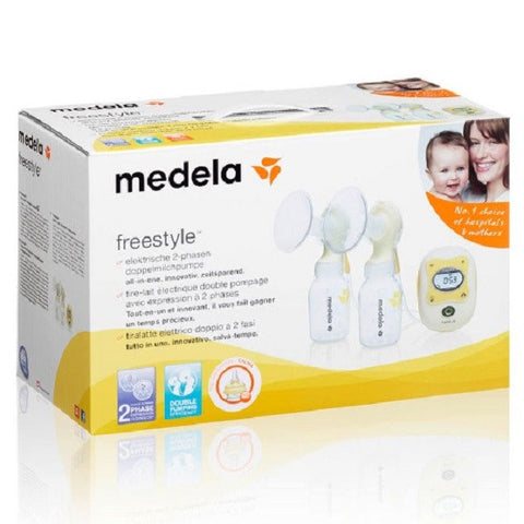 Medela - Freestyle Double Electric Breast Pump (2nd-Phase Expression)