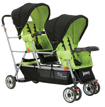 Joovy Big Caboose Stand-On Triple Stroller