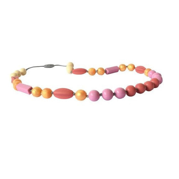 Itzy Ritzy Teething Happens™ Chewable Mom Jewelry - Full Strand Necklace (Available in 2 Designs)