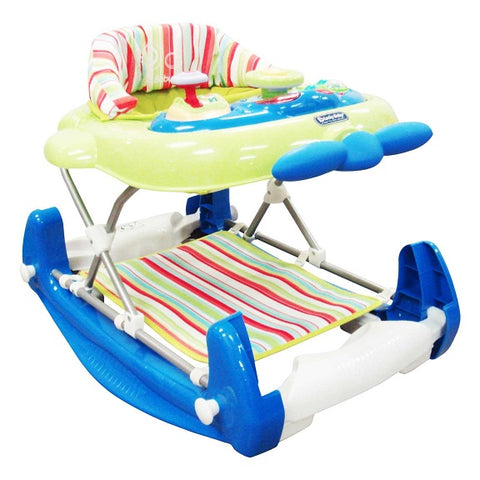 Lucky Baby-Jumbo Plus™ 2 In 1 Walker Cum Rocker