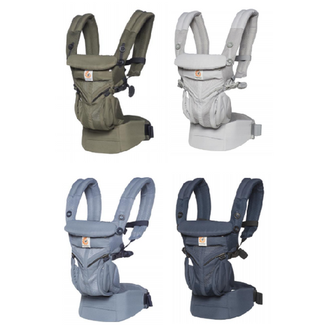 Ergobaby -  Omni Four Position 360 - Cool Air Mesh Baby Carrier (Available in 4 Designs)