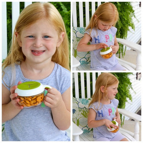 OXO Tot - Flippy™ Snack Cup with Travel Cover (Available in 4 Colors)