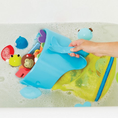Skip Hop - Moby Scoop & Splash Bath Toy Organizer