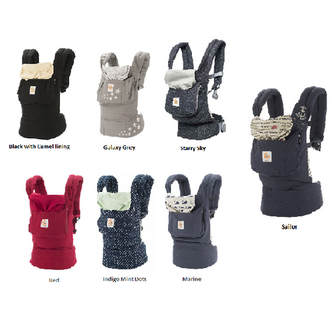 ERGObaby-Baby Carrier Original (Available in 7 Designs)