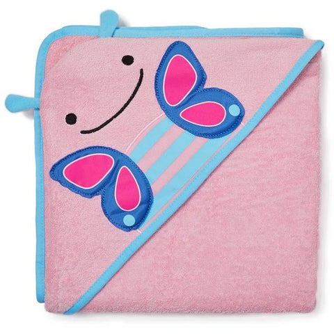 Skip Hop - Zoo Hooded Towel - Butterfly