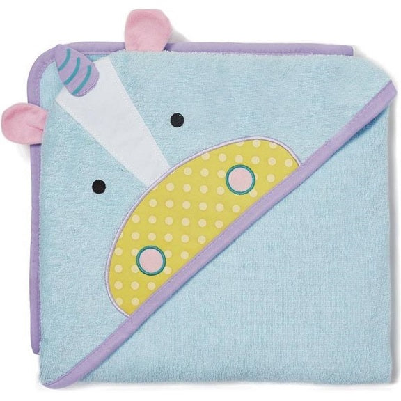 Skip Hop - Zoo Hooded Towel - Unicorn