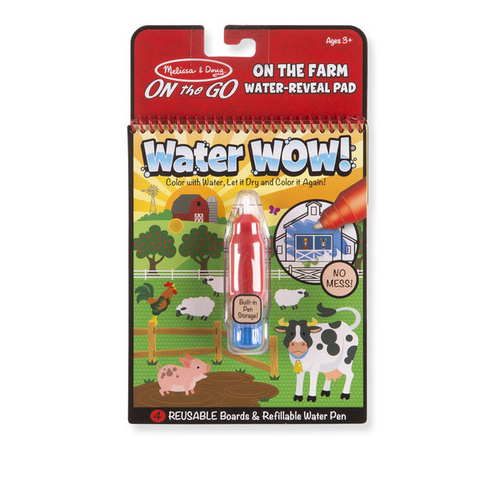 Melissa & Doug - Water Wow! Farm - ON the GO Travel Activity