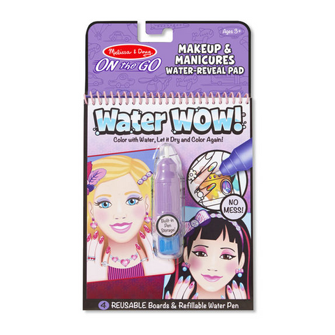 Melissa & Doug - Water Wow! Makeup & Manicures - ON the GO Travel Activity