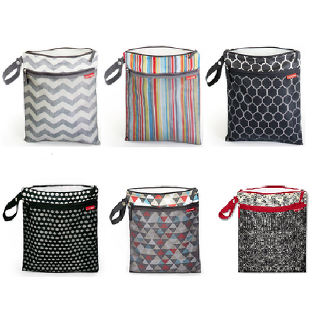 Skip Hop Grab & Go Wet/Dry Bag (Available in 5 Designs)