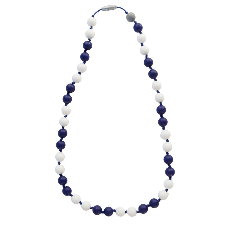 Itzy Ritzy Teething Happens™ Chewable Mom Jewelry - Round Bead Necklace (Available in 3 Designs)
