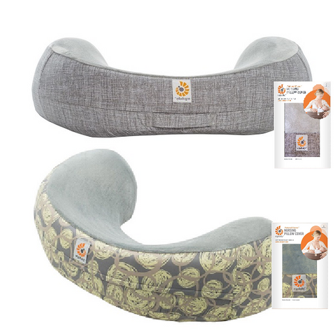 Ergobaby - Natural Curve Nursing Pillow Cover (Available in 2 Designs)