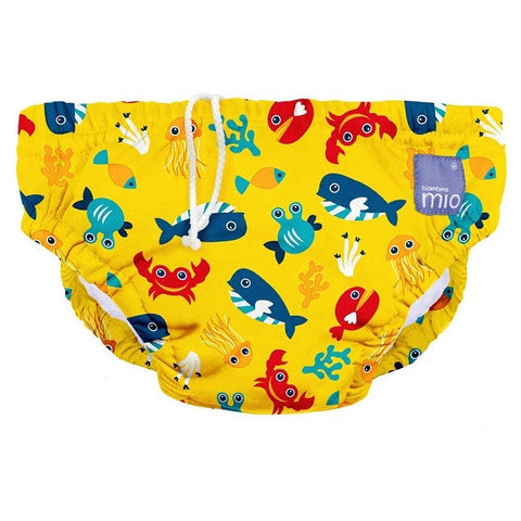 Bambino Mio - Swim Nappy - Deep Sea Yellow