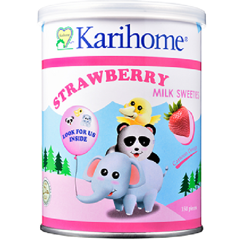 Karihome - Milk Sweeties Strawberry Flavour