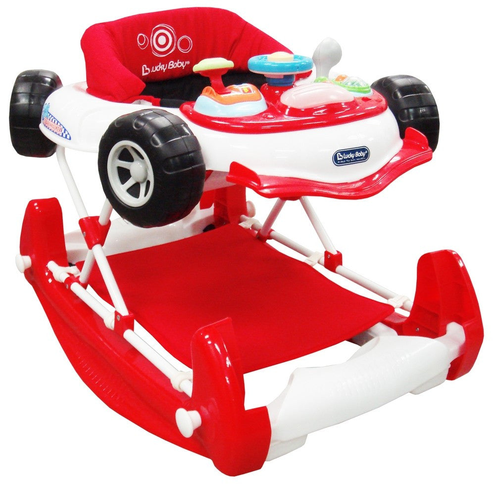Lucky Baby-Racer Plus™ 2in1 Baby Walker cum Rocker